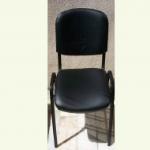 Siyah Fuar Sandalyesi